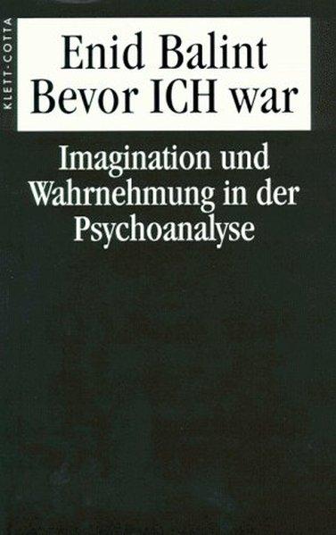 Bevor Ich war Imagination und Wahrnehmung in der Psychoanalyse