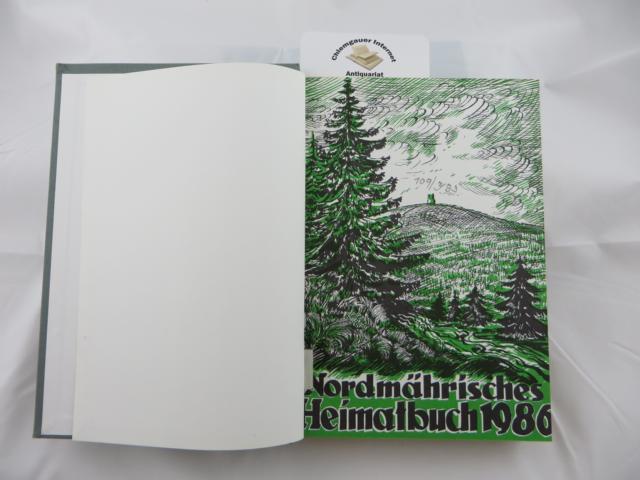 Nordmährisches Heimatbuch. VIER Jahrgänge 1986, 1987, 1988,989. Geschäftsführung: Albert Rotter.