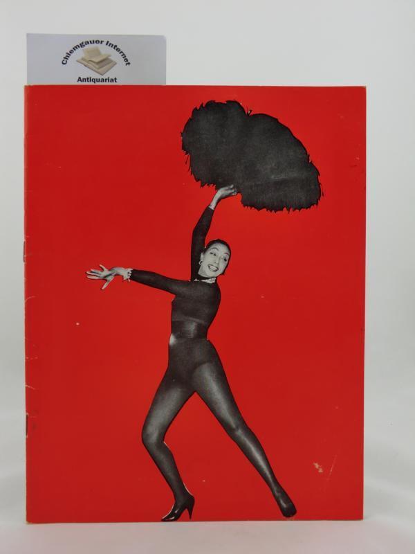 Le Nouvel Olympia présente: Josephine Baker dans Paris Mes Amours .              21 cm x 27 cm, 32 pages