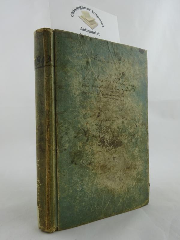 Württembergischer Schreib-Kalender für 1843. Ein gewöhnliches Jahr von 365 Tagen, das dritte nach dem zehnten Schaltjahr des 19ten Jahrhunderts.