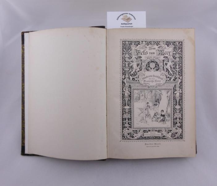 Vom Fels zum Meer. Illustrirte Zeitschrift für das Deutsche Haus. Zweiter Band (April bis September 1894).