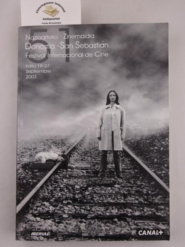 Donastia - San Sebastian  51. Festival Internacional de Cine. San Sebastian International Film festival 2003.