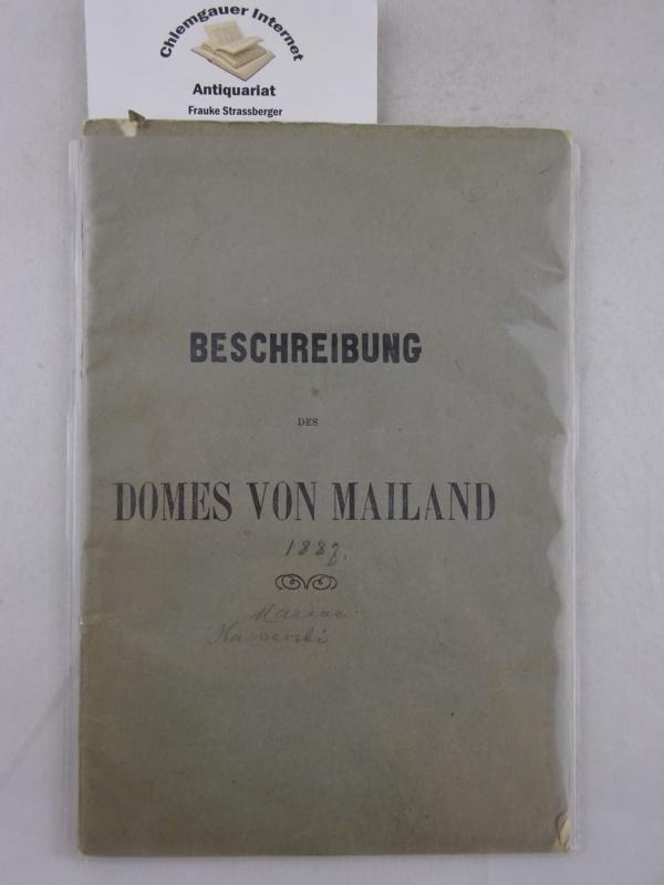 Beschreibung des Domes von Mailand.