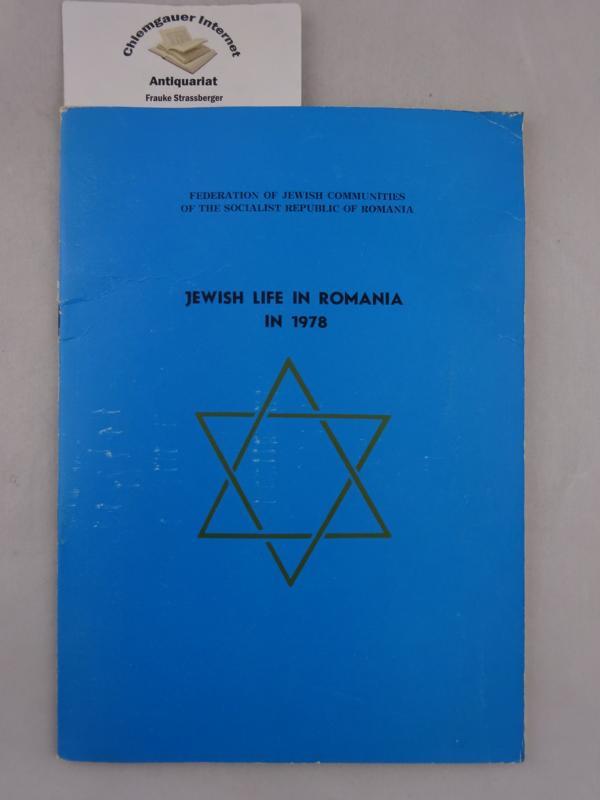 Jewish Life in Romania in 1978