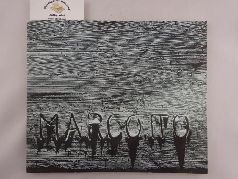 Marcotto. Malerei und Skulptur von 1989-2001. ERSTAUSGABE.