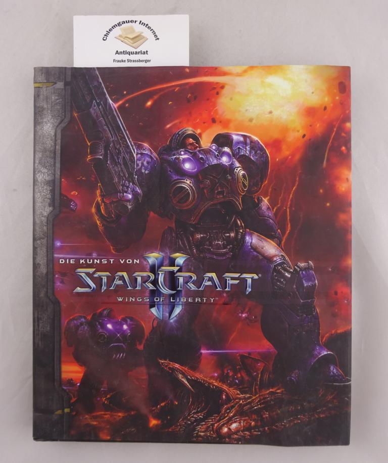 Die Kunst von Starcraft. The wings of liberty.