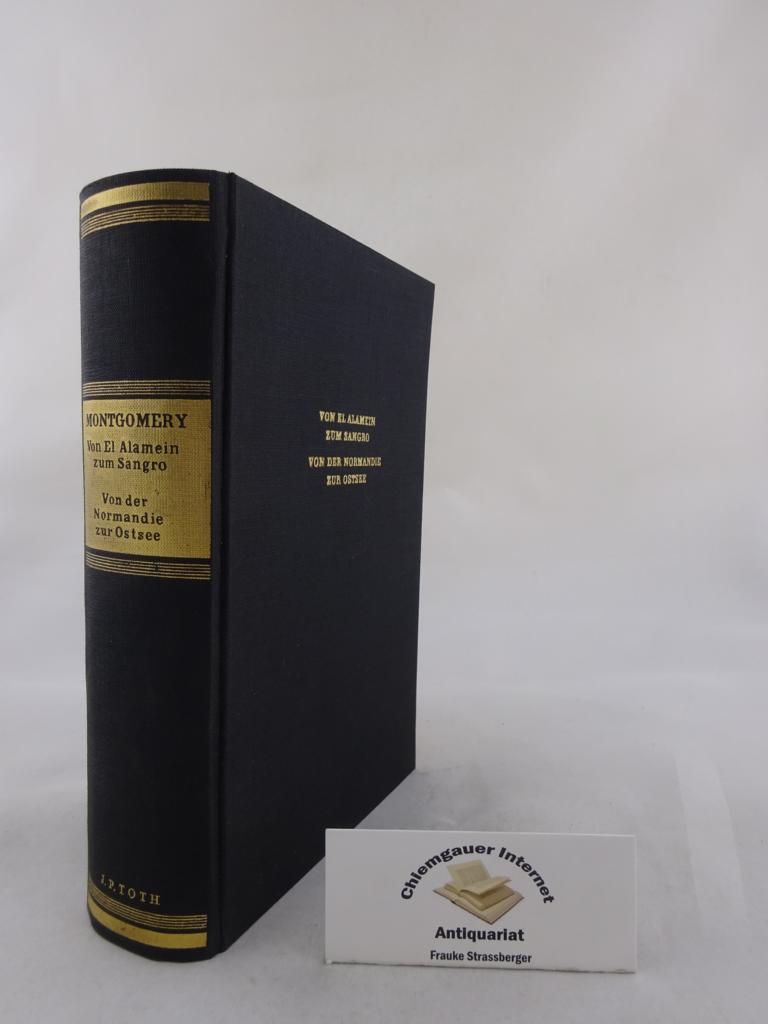 Von El Alamein zum Sangro . Von der Normandie zur Ostsee. Übersetzung aus dem Englischen von Werner Keller u. Josef Rischik. LIZENZAUSGABE für Deutschland, Scherz Verlag Bern 1949.