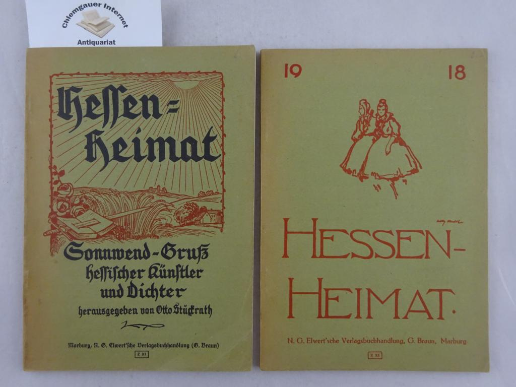 Hessen-Heimat. ZWEI (2) Hefte.