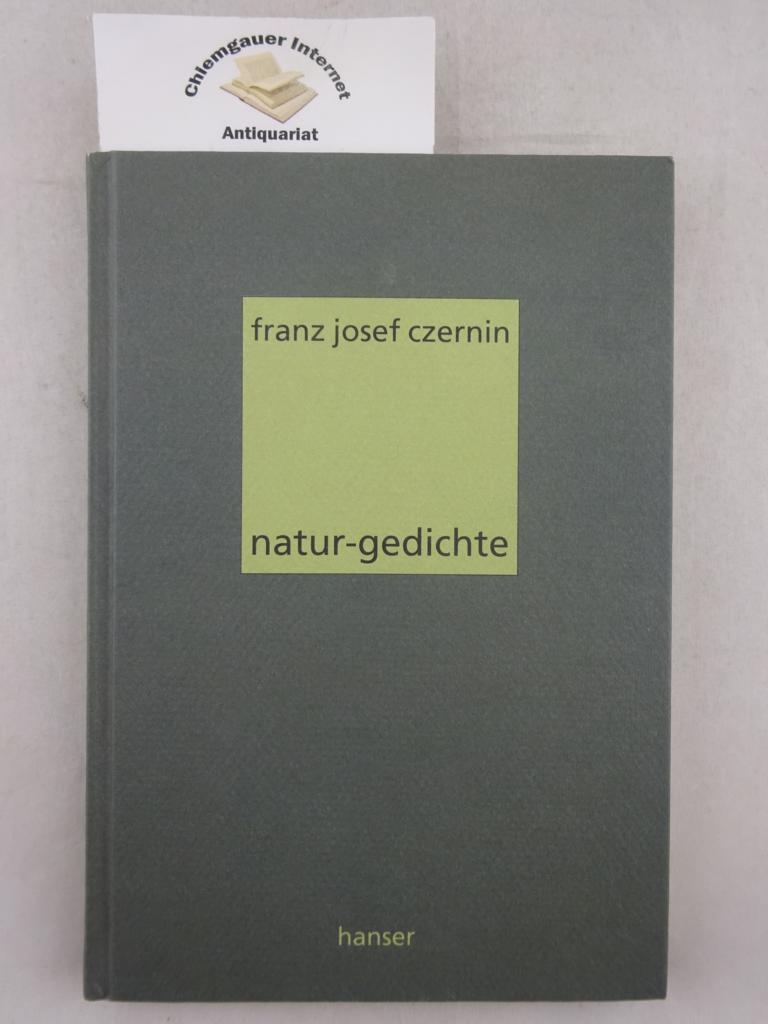 Natur-Gedichte. ERSTAUSGABE.