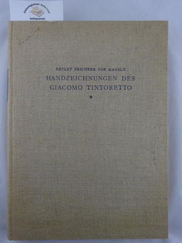 Handzeichnungen des Giacomo Tintoretto - Limitierte und nummerierte Sonderausgabe Nummer 546 von 1200 Exemplaren.