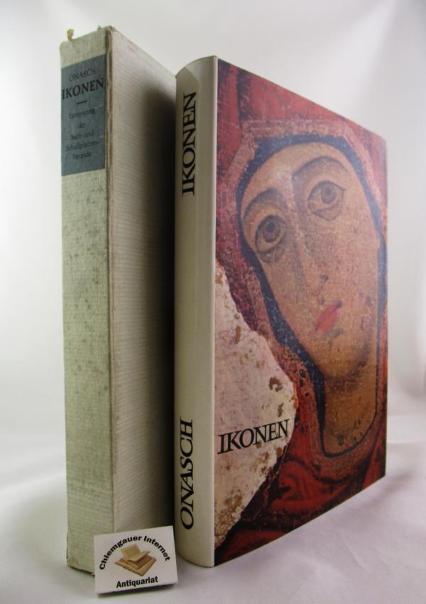 Onasch, Konrad: Ikonen. Altrussische Kunstdenkmäler ERSTAUSGABE.
