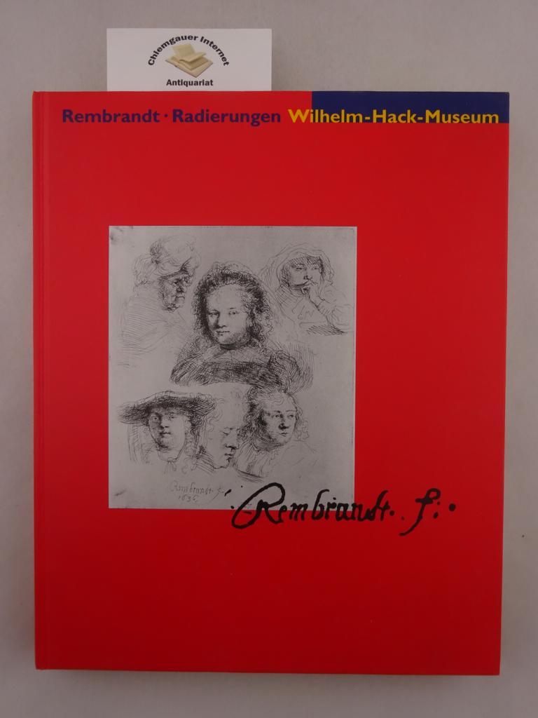 Rembrandt Fecit 165 Rembrandt-Radierungen aus der Sammlung des Staatlichen Museums Schwerin Ausstellung vom 17. März bis 19. Mai 1996, Wilhelm-Hack-Museum, Ludwigshafen am Rhein.