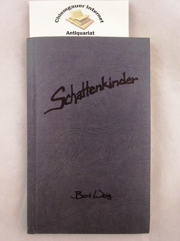 Schattenkinder. Mit Illustrationen von Klaus Kuran. Erstausgabe