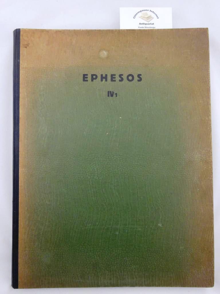 Forschungen in Ephesos. Veröffentlicht vom Österreichischen Archeologischen Institute. Band IV/1: Die Marienkirche in Ephesos.