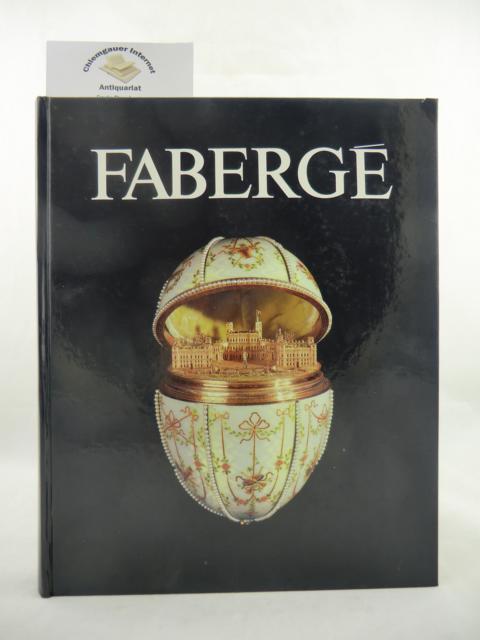 Géza von Habsburg: Fabergé. Hofjuwelier der Zaren. 5. Dezember 1986 - 22. Februar 1987. Ausstellung wurde veranstaltet vom Bayerischen Nationalmuseum und der Kunsthalle der Hypo-Kulturstiftung. 1. Auflage.  ERSTAUSGABE.