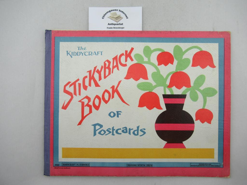 The Kiddycraft Stickyback Book of Postcards. ERSTAUSGABE.