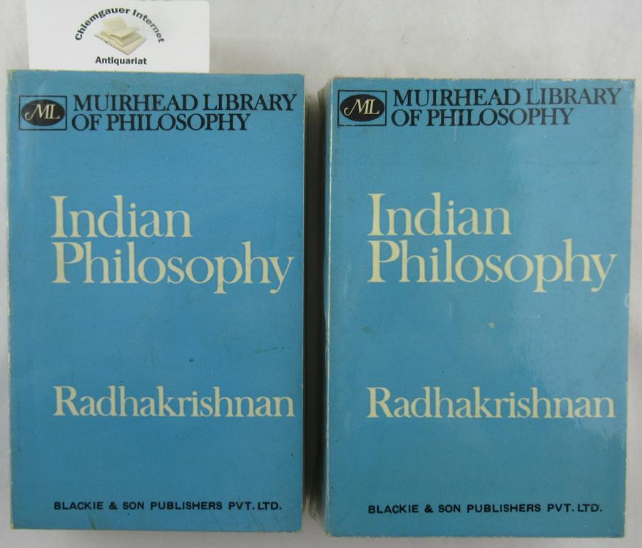 Indian Philosophy. ZWEI (2) Bände.