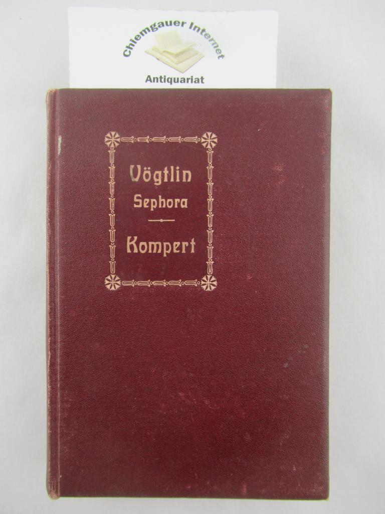 SEPHORA. Eine Novelle. Und : Leopold Kompert: Am Pflug. Eine Geschichte.