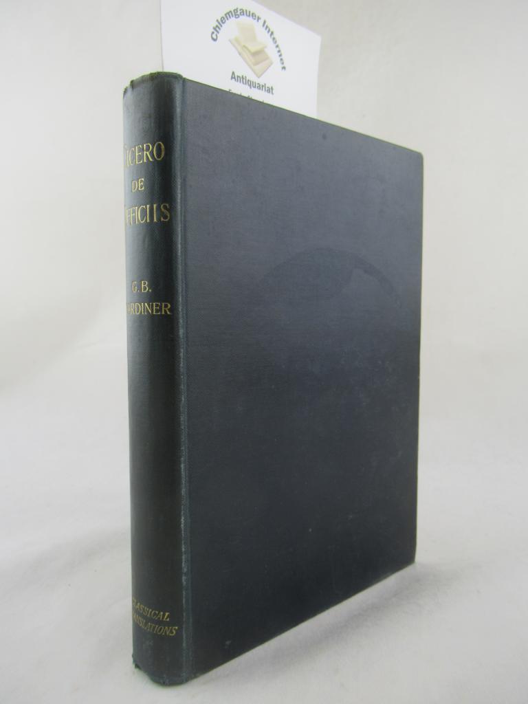 De officiis. Translated by George B. Gardiner.