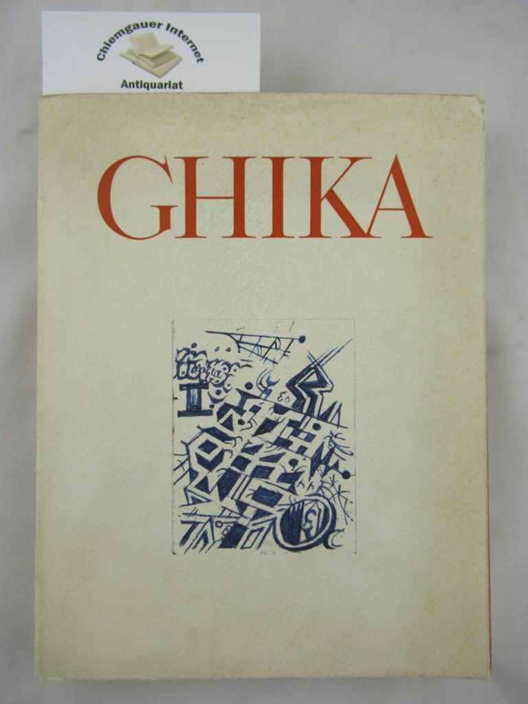 Ghika, Nikolaos: Ghika (Katalog zur Ausstellung in der National Pinacotheka und im Alexander Soutsos Museum in Athen, Mai 1973) Nummer 532 einer kleinen Auflage.