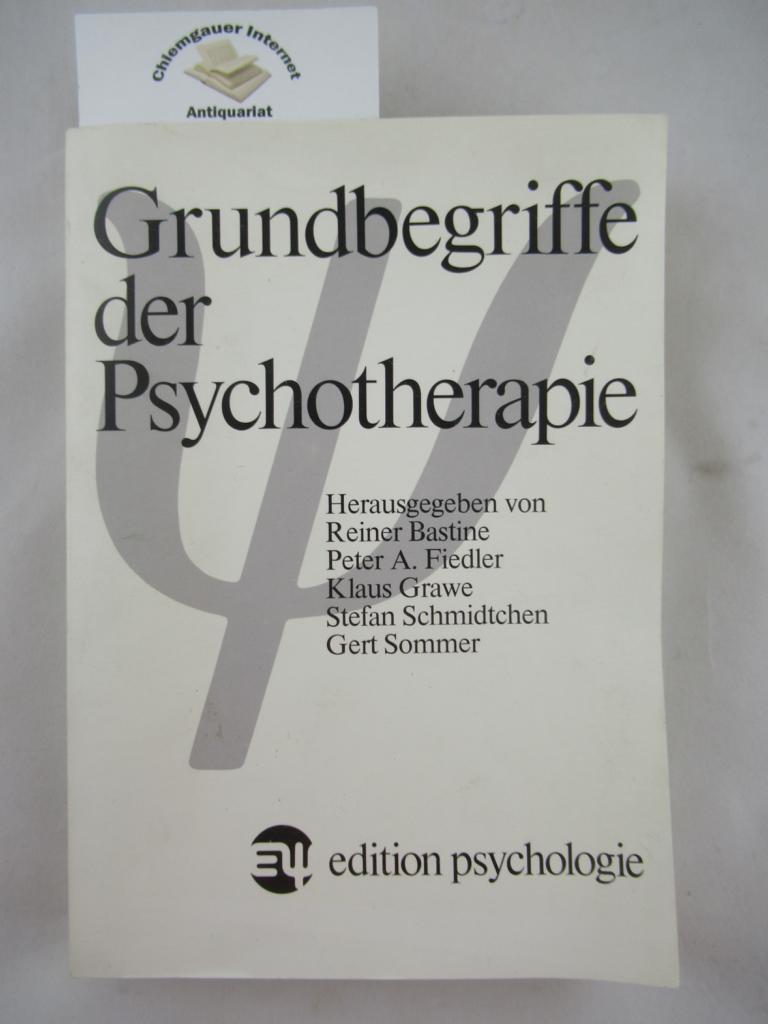 Grundbegriffe der Psychotherapie. ERSTAUSGABE.