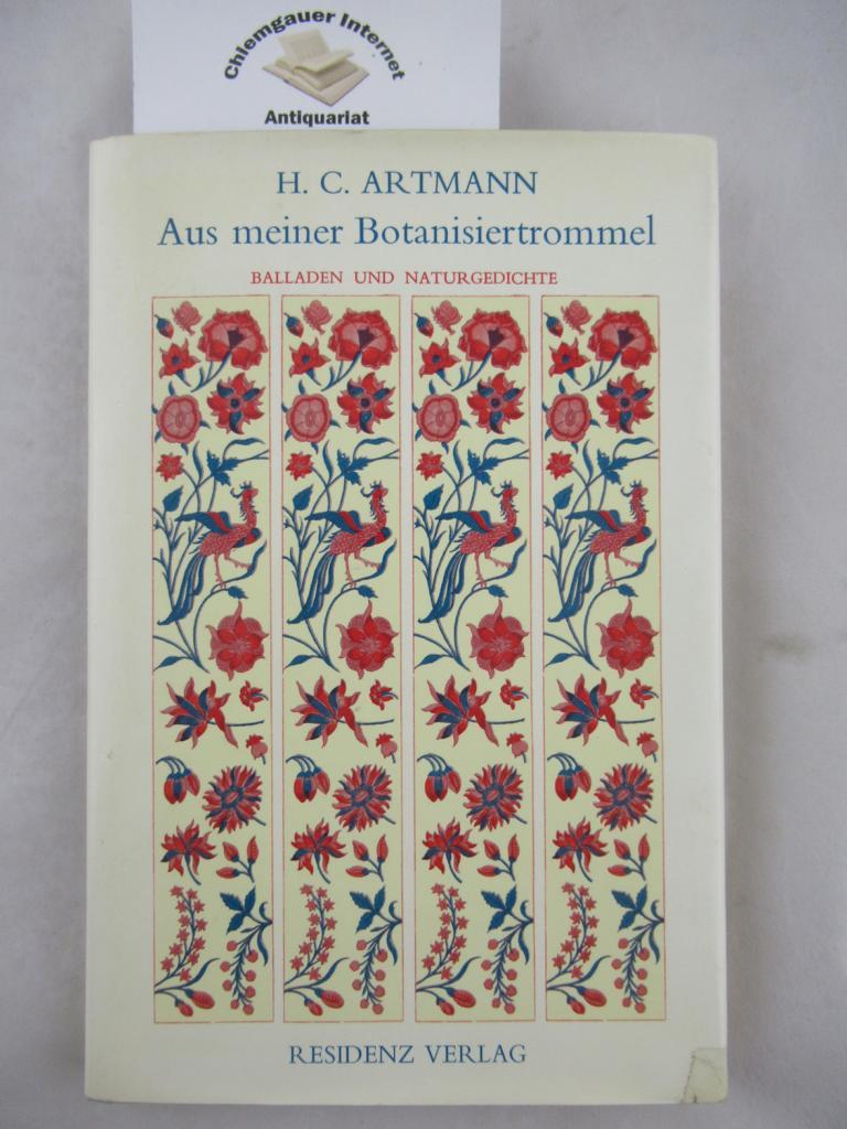 Artmann, Hans C.: Aus meiner Botanisiertrommel : Balladen und Gedichte. ERSTAUSGABE.
