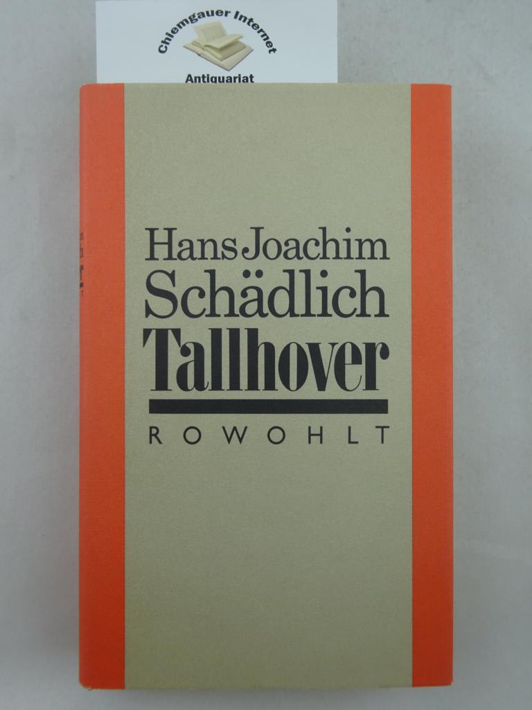 Tallhover. ERSTAUSGABE.