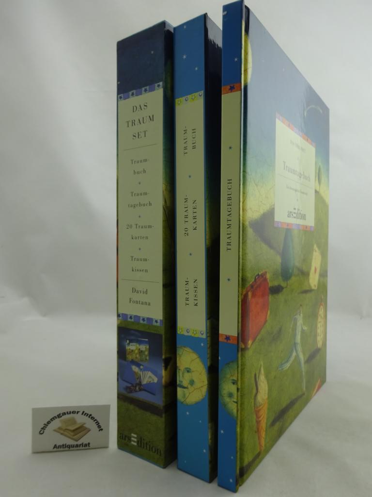 Das Traumset. Eine Anleitung zur Anregung, Erinnerung und Deutung von Träumen. Enthält : Traumtagebuch. Ein chronologischer Traumbericht ERSTAUSGABE.