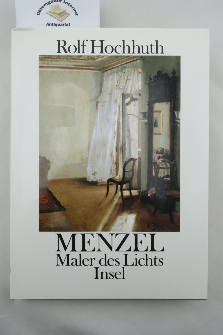 Menzel : Maler des Lichts. 1. Auflage. ERSTAUSGABE.