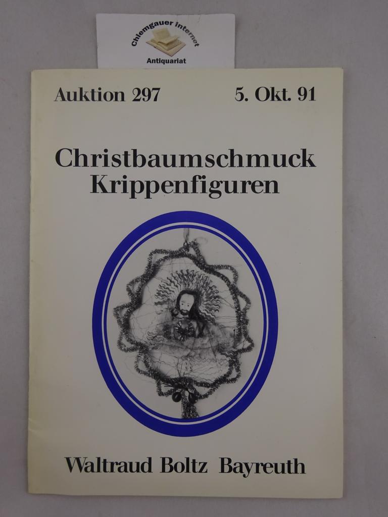 Christbaumschmuck. Krippenfiguren. Versteigerung 5. Oktober 1991