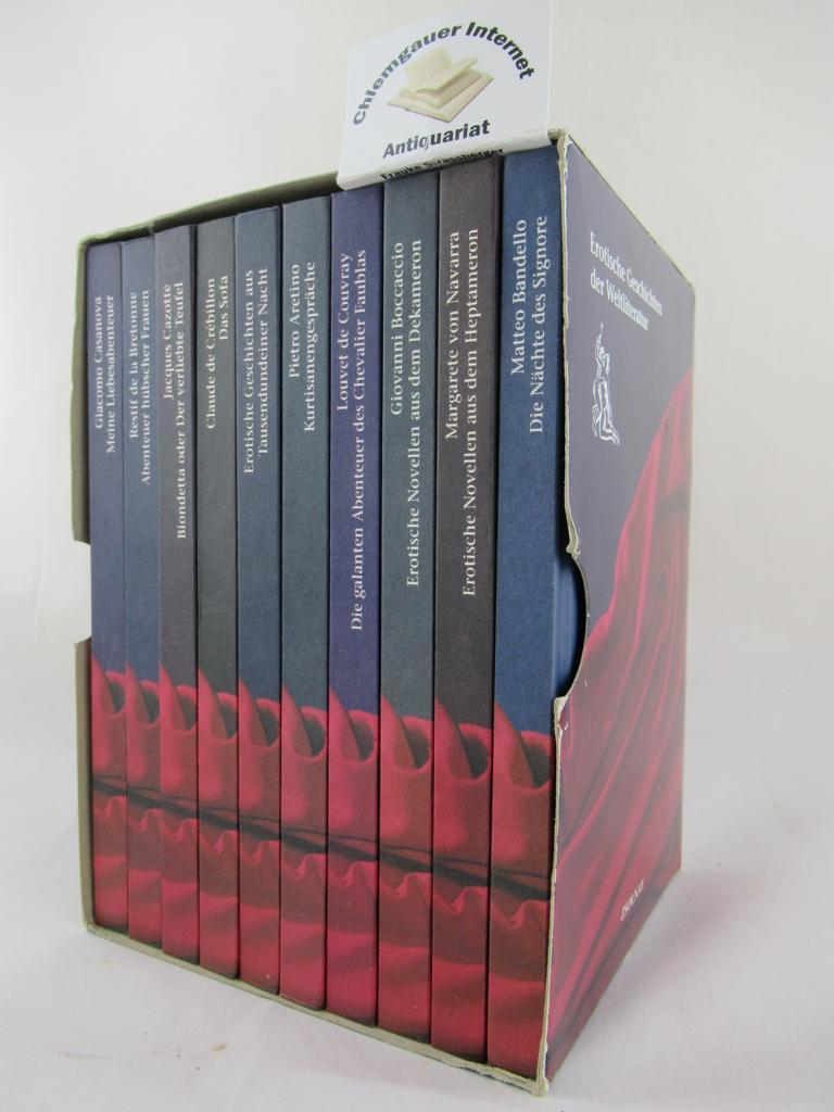 Erotische Geschichten der Weltliteratur . ZEZN (10) Bände.