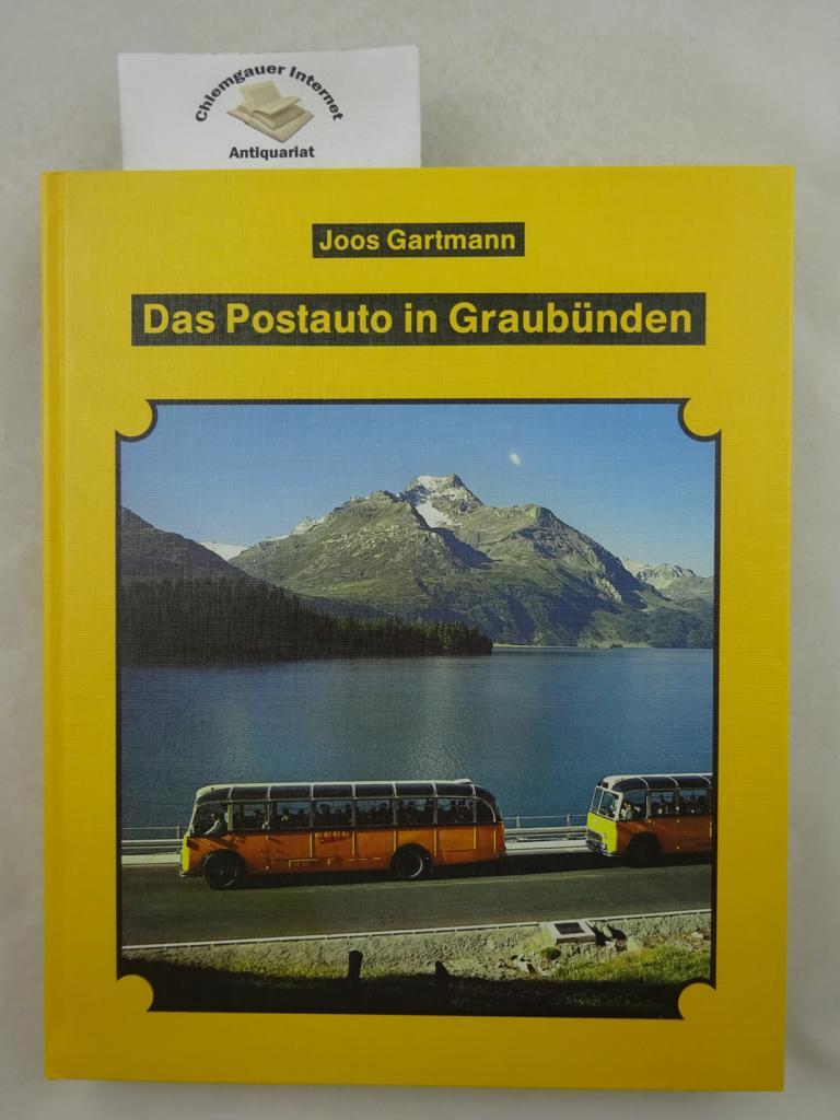 Das Postauto in Graubünden. ERSTAUSGABE.