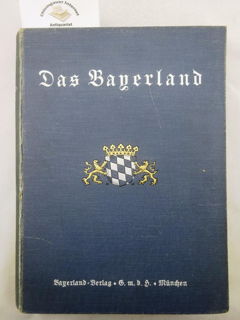 Solleder, Fridolin (Hrsg.): Das Bayerland. Illustrierte Halbmonatsschrift für Bayerns Land und Volk. 38. Jahrgang. 1927.