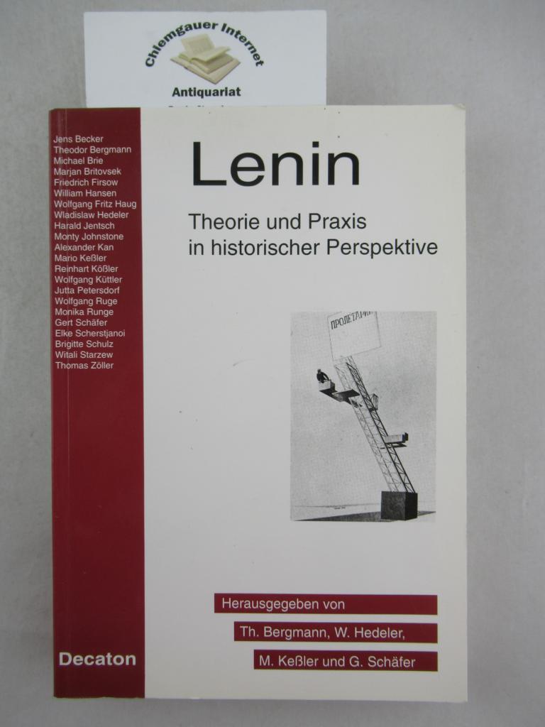 Lenin : Theorie und Praxis in historischer Perspektive ; Beiträge zum Internationalen Lenin-Symposium, Wuppertal, 15. - 18. März 1993. 1. Auflage.