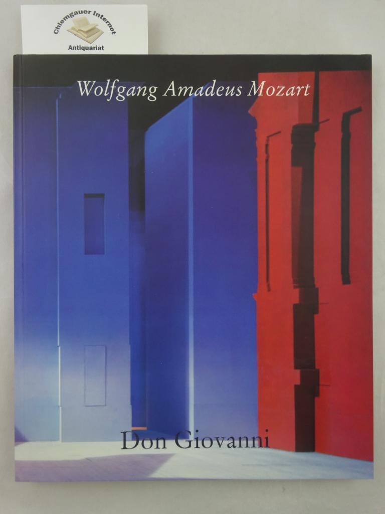 Wolfgang Amadeus Mozart, Don Giovanni in der Prager Fassung von 1787 : Programmbuch der Salzburger Festspiele 1995