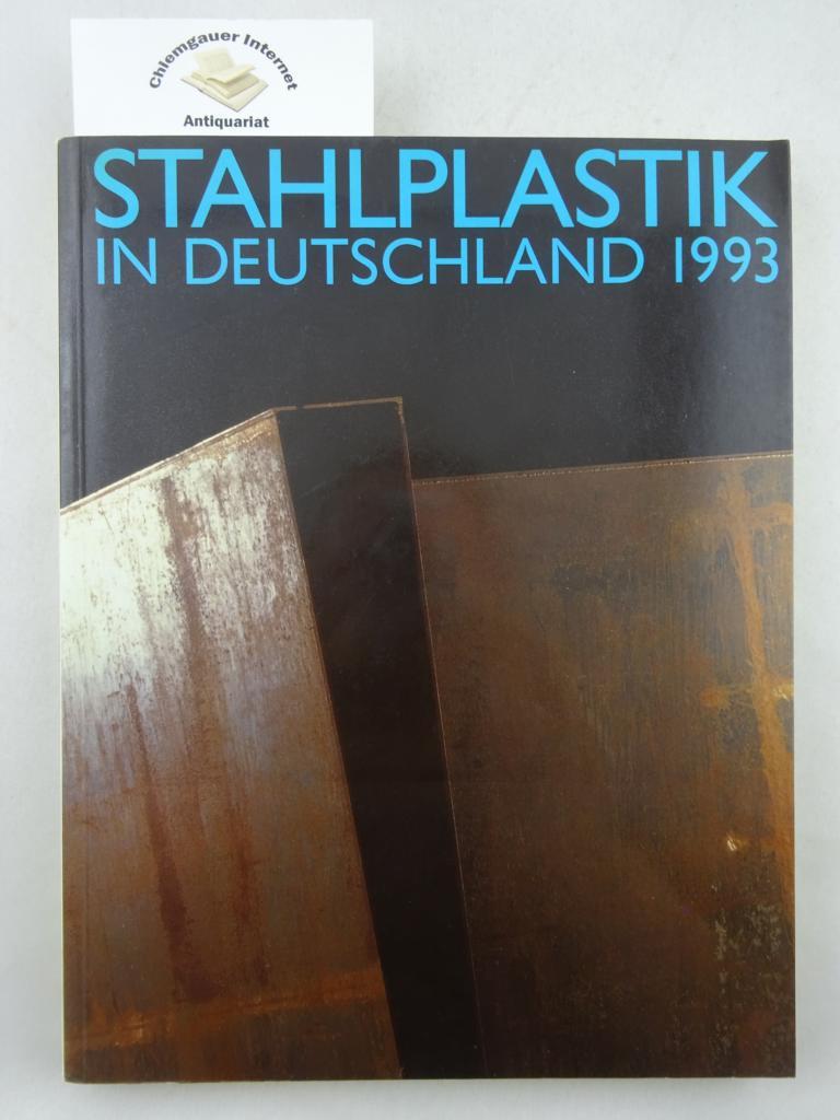 Wieg, Cornelia: Stahlplastik in Deutschland 1993 : Halle (Saale), Kulturpark Saaleaue (Peissnitz), 12. September bis 24. Oktober 1993. ERSTAUSGABE.