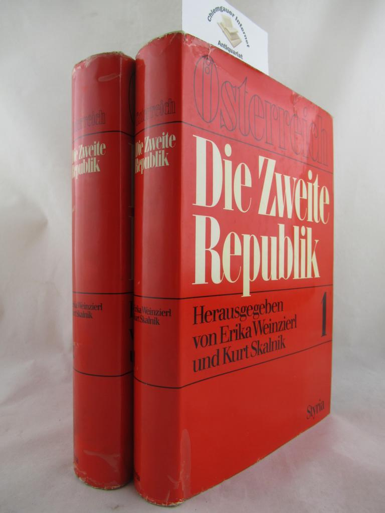 Die zweite Republik. Zwei (2) Bände. Erstausgabe.