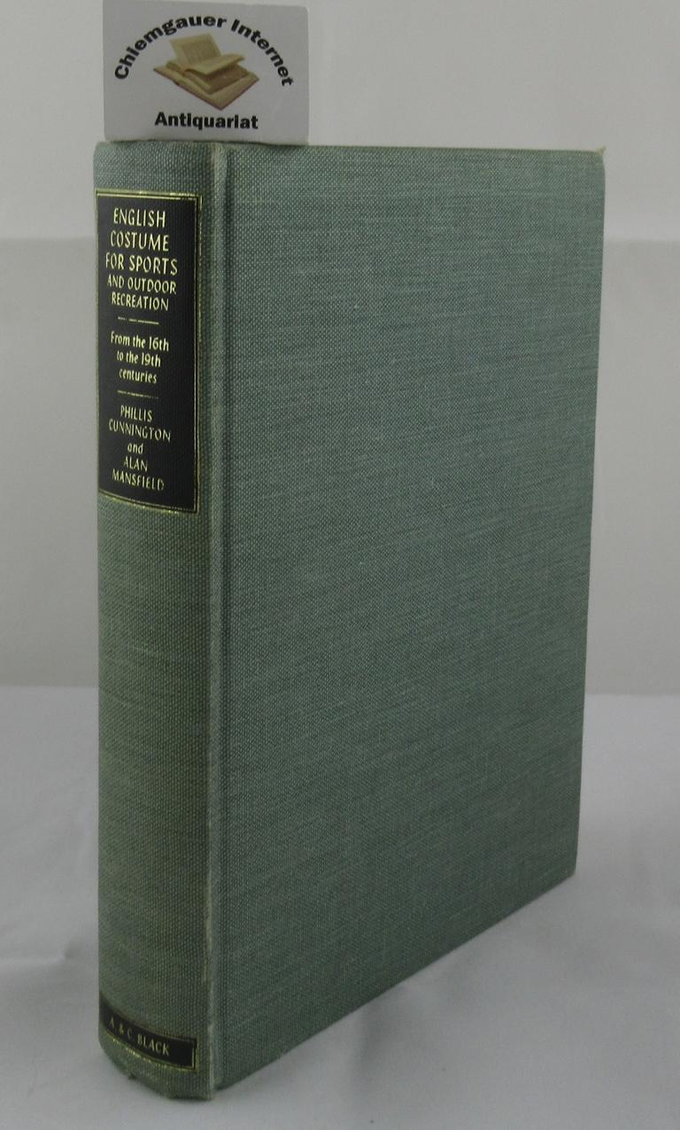 English Costume For Sports And Outdoor Recreation. First edition.