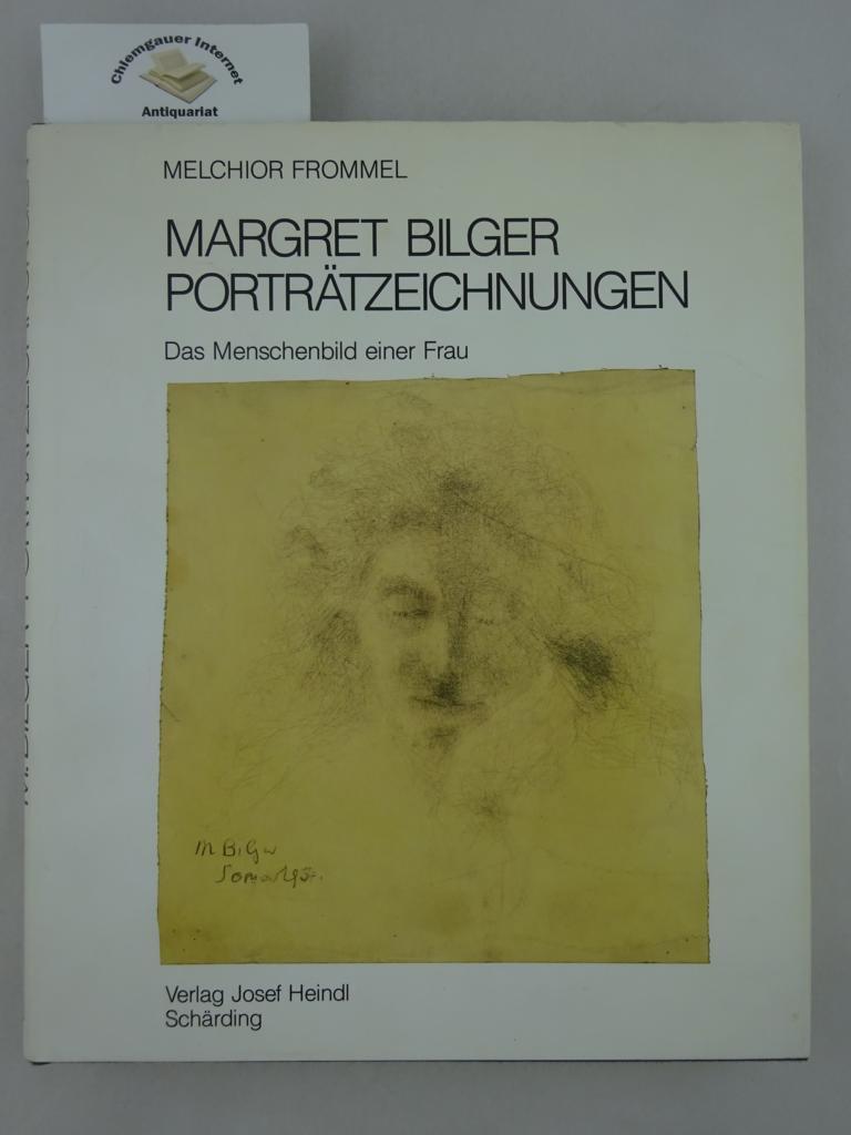 Frommel, Melchior: Porträtzeichnungen : Das Menschenbild einer Frau. 1. Auflage. ERSTAUSGABE.