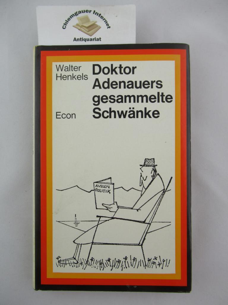 Doktor Adenauers gesammelte Schwänke. Mit Zeichnungen von H.E. Köhler. 31.-50. Tausend.