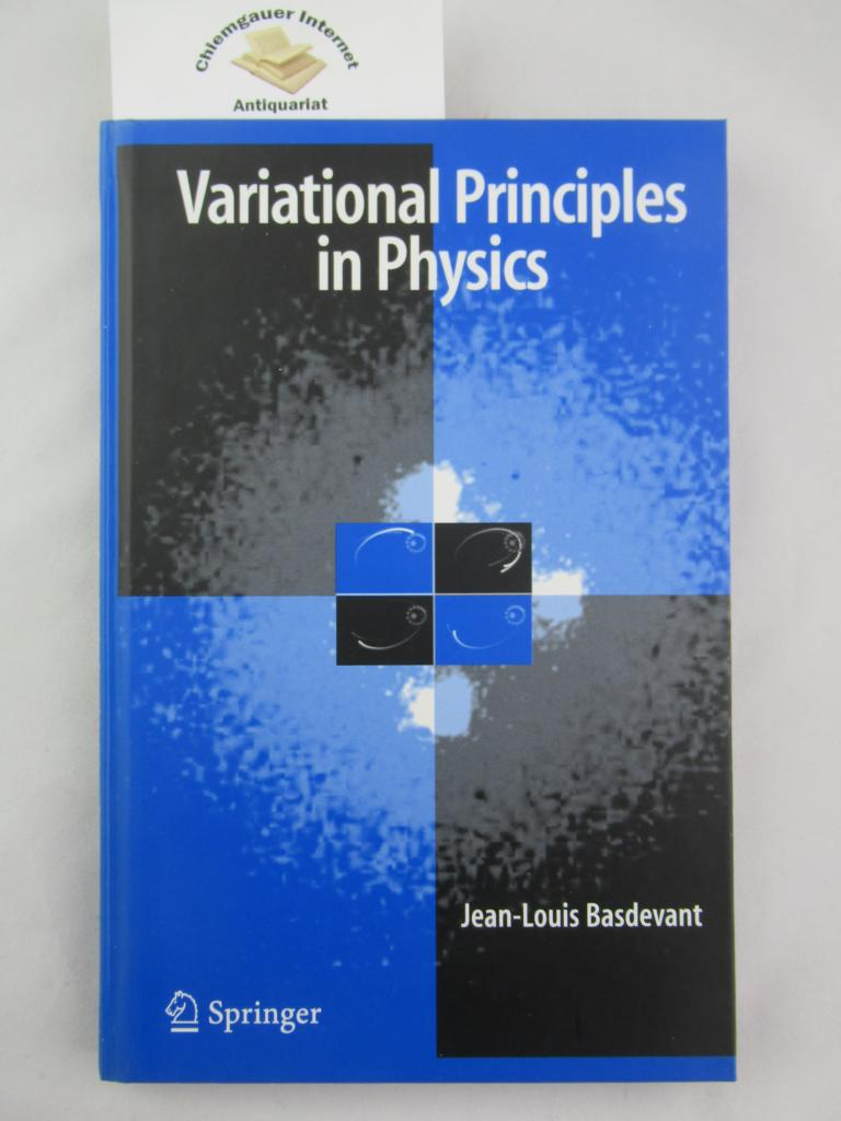 Variational Principles in Physics First edition.