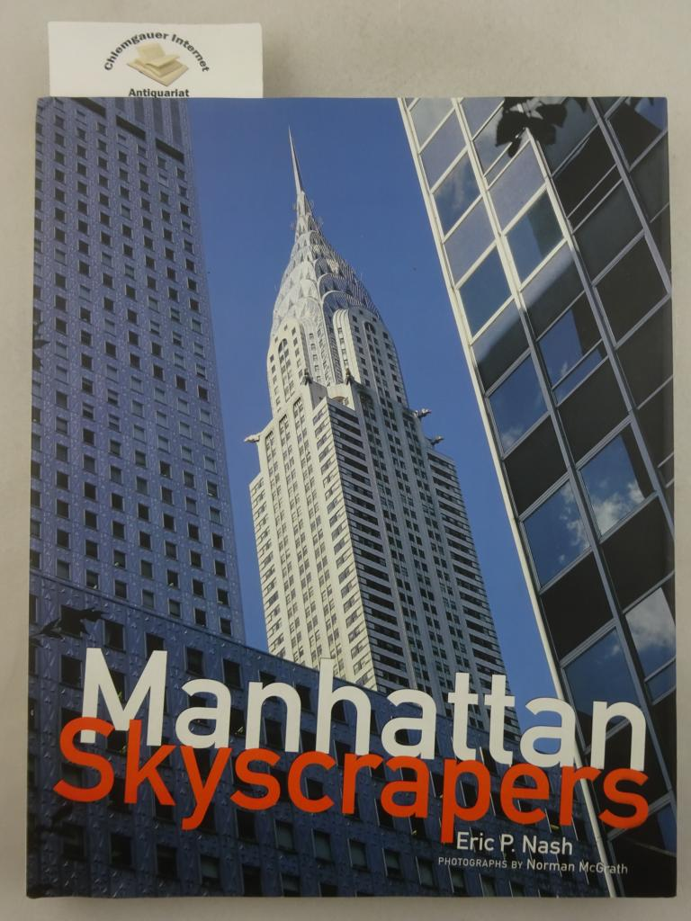 Manhattan Skyscrapers. Photographs by  Norman McGrath. First edition.
