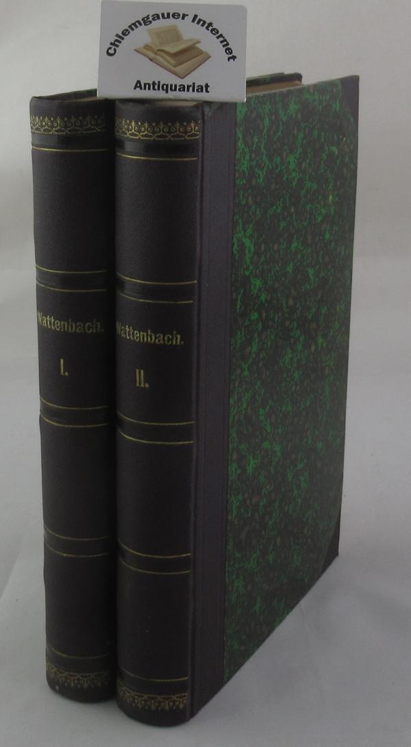 Deutschlands Geschichtsquellen im Mittelalter bis zur Mitte des Dreizehnten Jahrhunderts. In ZWEI Bänden. FÜNFTE, UMGEARBEITETE Auflage.