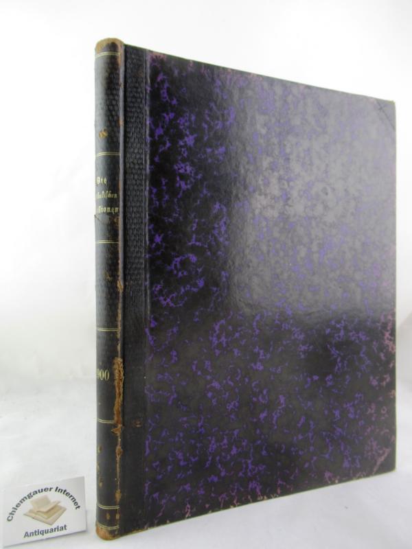 Die Katholischen Missionen. Illustrirte Monatschrift.  Achtundzwanzigster (28.) Jahrgang 1900.