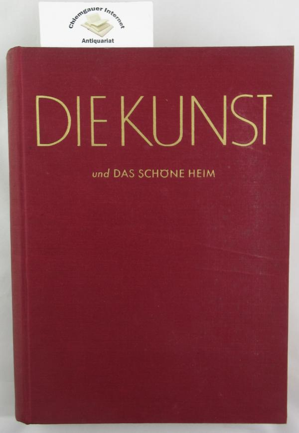 Die Kunst und das schöne Heim. 49. Jahrgang. 1950/51. Monatsschrift für Malerei, Plastik, Graphik, Architektur und Wohnkultur.