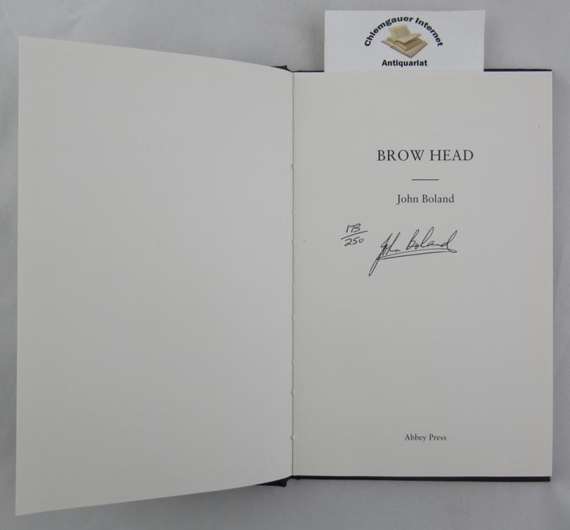 Brow Head. First edition.