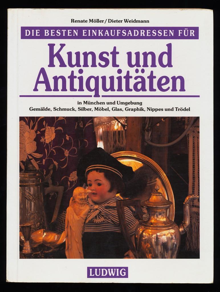Die besten Einkaufsadressen für Kunst und Antiquitäten in München und Umgebung. Gemälde, Schmuck, Silber, Möbel, Glas, Graphik, Nippes und Trödel.
