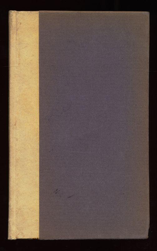 Tagebücher der Adele Schopenhauer. Zweiter Band (Band II) Mit 17 Silhouetten auf farbigem Untergrund, geschnitten von Adele Schopenhauer. 1. Aufl.,