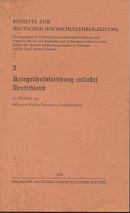 Kriegsschuldforschung entlastet Deutschland, 2,
