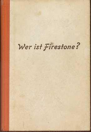 Indra, E. W.: Wer ist Firestone ? : Kriminalroman. U-Bücher ,
